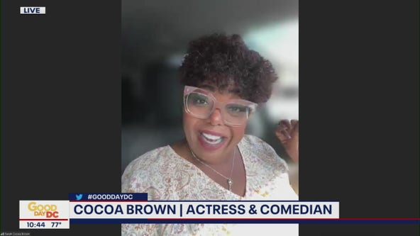 Cocoa Brown dishes on comedy shows, '9-1-1' and more
