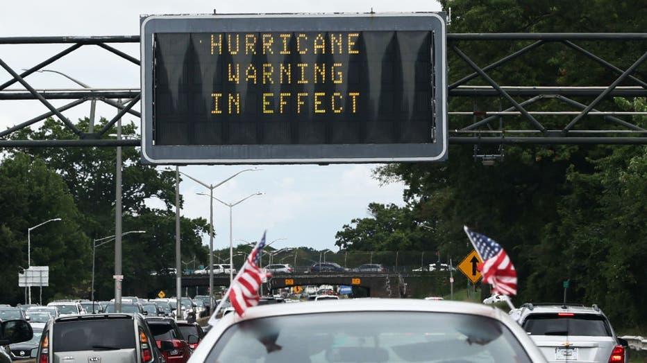 d5884743-Hurricane Henri Tracks Towards Coast Of Northeast