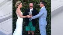 FOX 5 celebrates Tucker and Caitlin's wedding on GoodDayDC