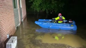 Residents flee, some rescued from flooding at Rockville apartment as Ida's remnants bring downpours