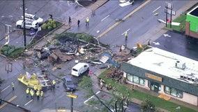 Neighborhoods recovering after Ida tears path of destruction through DC region