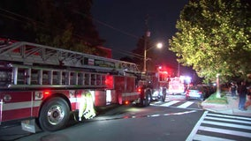 DC house fire sends 2 elderly residents to hospital