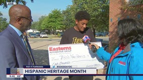 PAY IT FORWARD: 15-year-old gives back in celebration of Hispanic Heritage Month