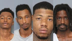 4 charged after driver of stolen car, officer bitten by police K9 in Charles County