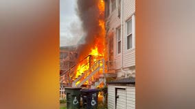 Northwest DC grill accident sparked fire that left 6 displaced: fire officials