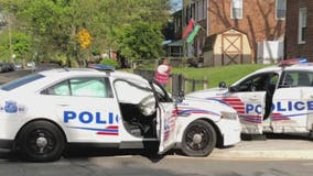 1 DC cop cited in alleged Northeast drag-race crash takes plea deal; 2nd cop fighting charges
