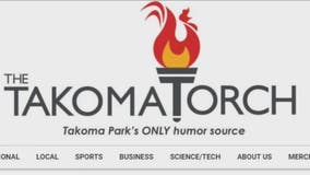 Montgomery County parody site article goes for home run, goes foul