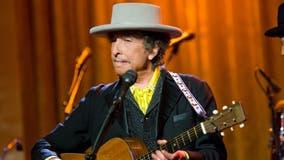 Bob Dylan performing at The Anthem in December