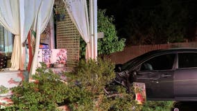 Prince George's County police investigating hit-and-run after car slams into home