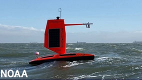 Ocean drone captures video from inside hurricane for 1st time