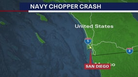 3 of 5 sailors killed in Navy chopper crash from Maryland, Virginia
