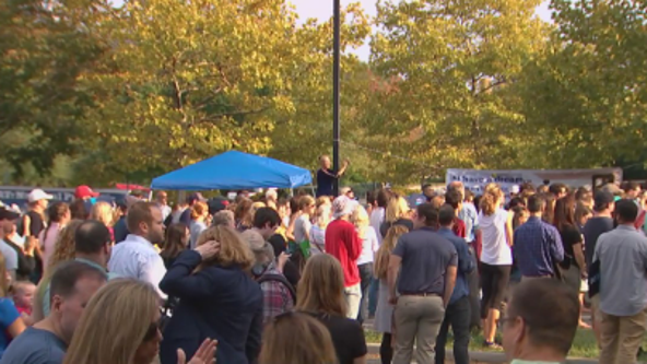 More than 100 gather at Loudoun County school board meeting to protest transgender policy