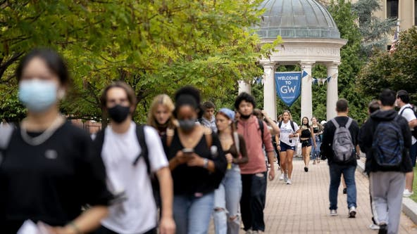 George Washington University requiring visitors to show proof of vaccination, negative COVID test