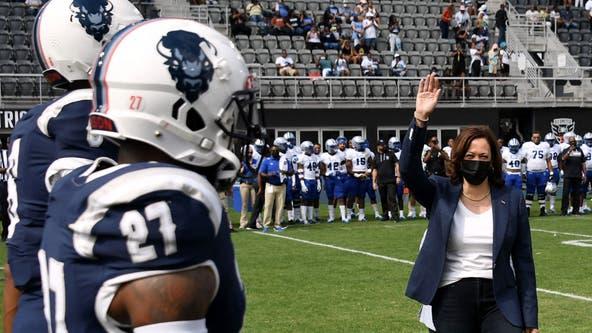 FOX 5 on hand at historic rivalry game between Howard University and Hampton