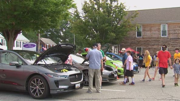 Poolesville holds one of the largest national drive electric events
