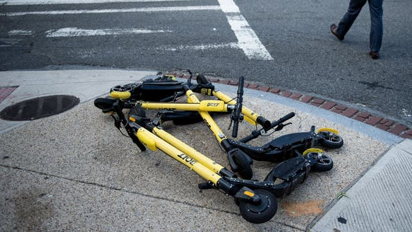 DC law requiring scooter to be locked up goes into effect in October
