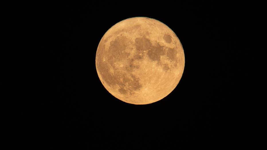 August Sturgeon Full Moon In Greece