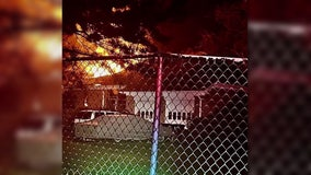 Early morning fire damages home in Prince George's County