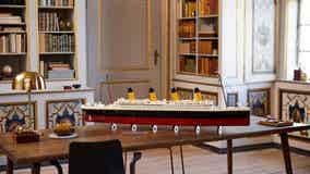 Record 9,090-piece Titanic Lego set hitting shelves in November