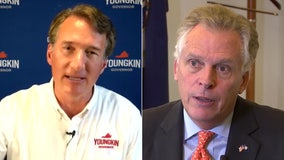 Virginia's race for governor tightens; McAuliffe and Youngkin neck and neck