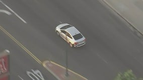 Police chase suspect in custody after driving erratically across Los Angeles