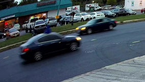 VIDEO: Suspect who shot 12-year-old girl fires from sunroof of moving car in Prince George's County
