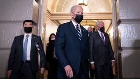 Biden announces 'historic' deal on $1.75T spending plan, asks Democrats for votes