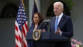 Deal on Biden's $2T plan edges closer; Harris is `confident' (AP)