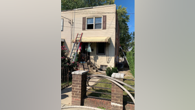 Man in critical condition after Southeast DC fire