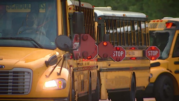 Ongoing Charles County bus driver sick-outs cancel over 230 school bus routes Wednesday morning