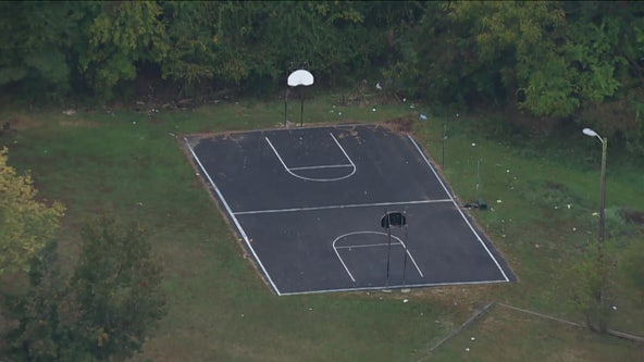 2 shot at basketball court in Anne Arundel County
