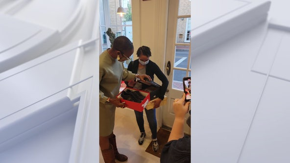 PAY IT FORWARD: Soles4Souls helps provide shoes for those in need