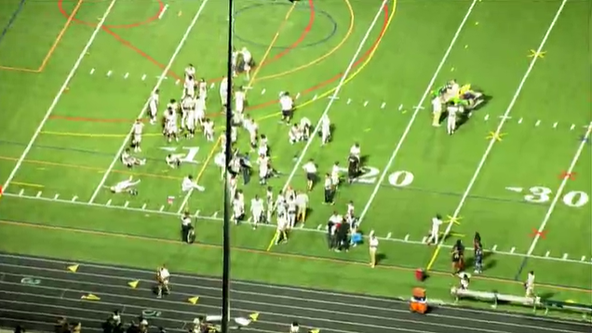 Montgomery County police respond to fight at Seneca Valley High School football game