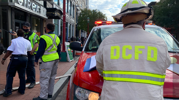 Green, Yellow Line service partially suspended due to fire department activity at Gallery Place