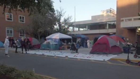 Howard students enter second week of sit-in on campus to protest poor housing conditions