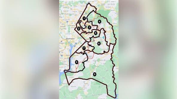New effort to redraw boundaries in Prince George's County sparking debate