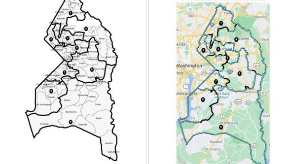 New Prince George's County redistricting map fails to satisfy critics