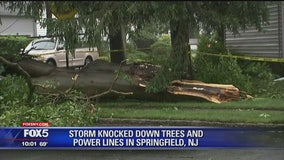 Tornado touches down in NJ during severe weather