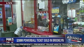 $293.8M Powerball ticket sold in East New York