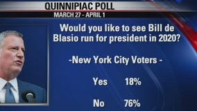 De Blasio hits the campaign trail