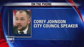 New York City Council Speaker Corey Johnson on Manhattan blackout