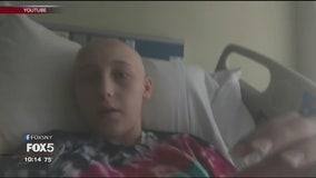Teenager fights rare cancer