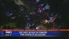 Yonkers cop shot