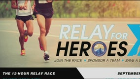Relay for Heroes race