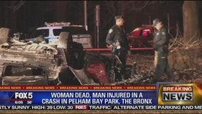 1 dead, 3 injured in Bronx crash