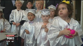 A very special preschool graduation