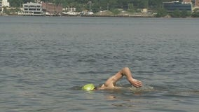 Swimming in the Hudson River