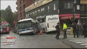 Queens bus crash probe