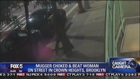 Violent mugging in Brooklyn