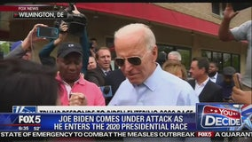 Trump slams Biden presidential bid